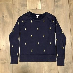 LILY Pulitzer Seahorse sweatshirt!!
